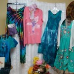 Beautiful clothing items available at the Heartsong Boutique