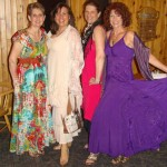 Kathy, Stephanie, Judith & Elizabeth wearing beautiful dresses from Heartsong WORLD Boutique!